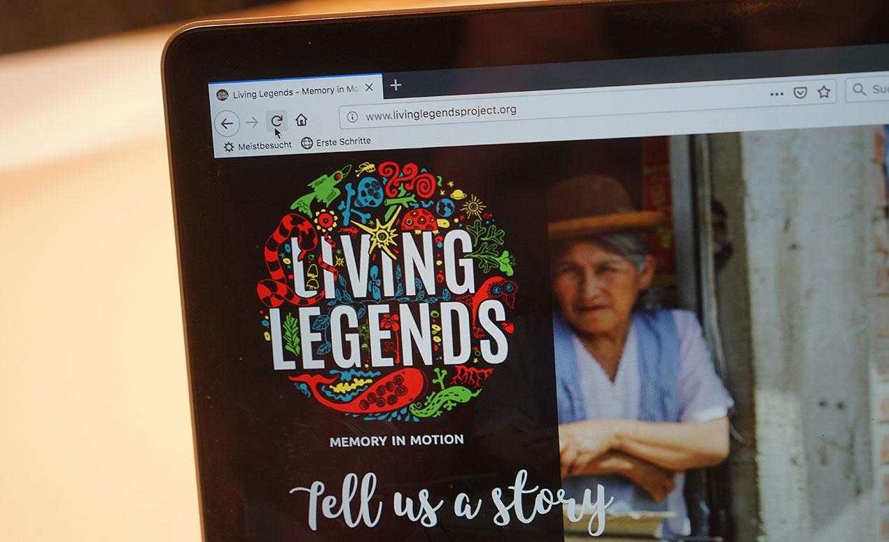Logo Living Legends